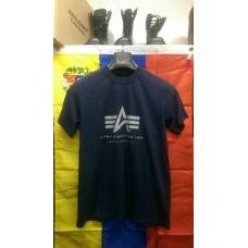 Футболка Alpha Ind Basic A Logo Navy