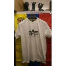 Футболка Alpha Ind Basic A Logo White