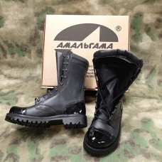 Ботинки кожаные Амальгама - 2