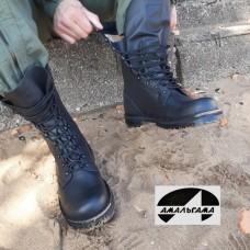 Ботинки кожаные уставные Амальгама - 3